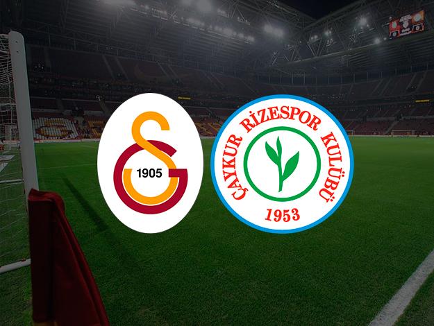 Galatasaray Rizespor maçı canlı izle   Bein Sports 1 canlı