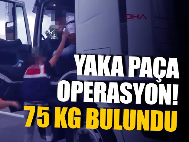 İstanbul'da yaka paça uyuşturucu operasyonu! Kilolarca uyuşturucu yakalandı