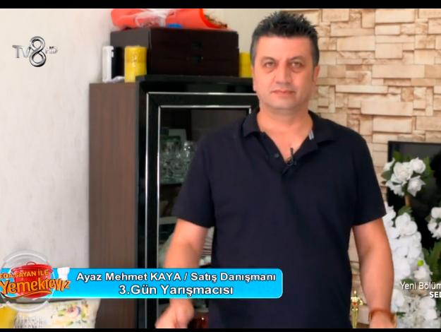 Yemekteyiz Ayaz Mehmet Kaya kimdir? Kaç yaşında, nereli ve mesleği
