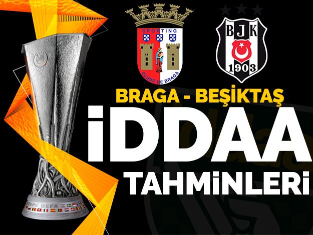 Braga Beşiktaş İddaa oranları ve tahminleri | 7 Kasım Perşembe