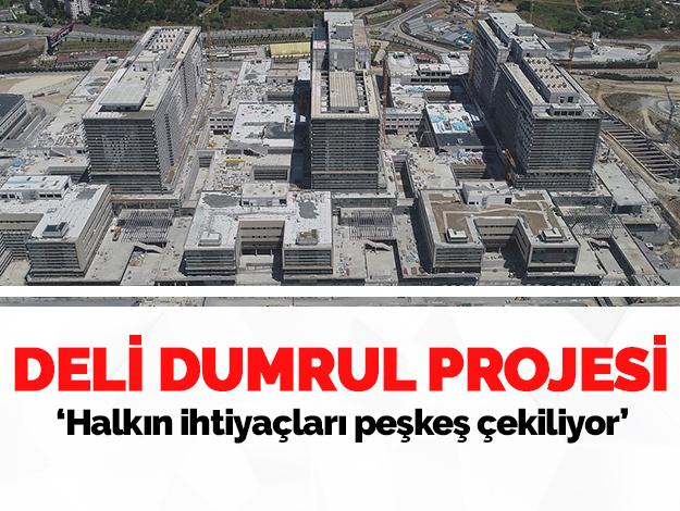 Deli Dumrul projesi! Halkın ihtiyaçları peşkeş çekiliyor!