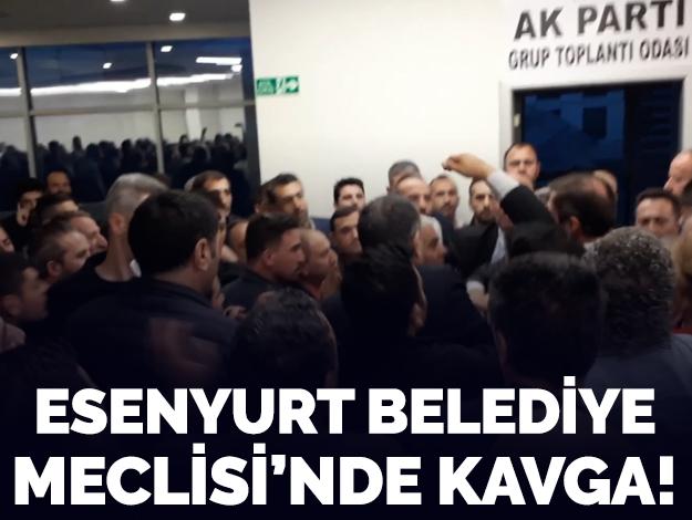 Esenyurt Belediye Meclisi'nde kavga!