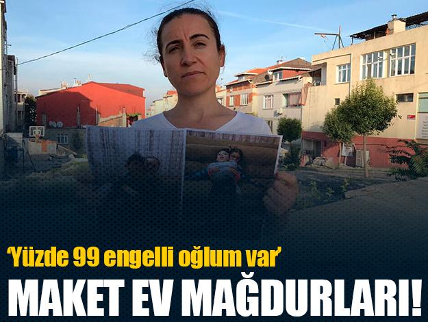 Esenyurt'ta maket ev mağdurları isyan etti: Ne evimizi ne paramızı alabiliyoruz