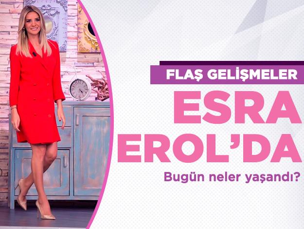 Esra Erol'da 6 Kasım Çarşamba tek parça İzle ATV