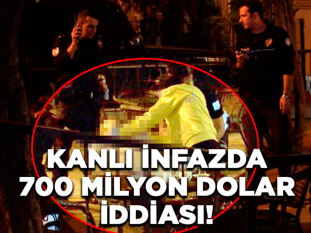 Fatih'teki cinayette 700 milyon dolar iddiası