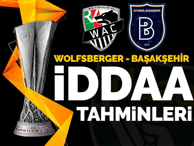 Wolfsberger AC  Başakşehir İddaa oranları ve tahminleri   7 Kasım Perşembe