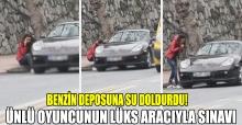 Ebru Polat benzini biten lüks aracına su döktü!