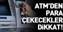 Farklı ATM'lerden para çekme ücretine sınır