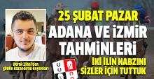 25 Şubat 2018 Pazar Adana ve İzmir At Yarışı Tahminleri - Altılı Ganyan Bülteni Hazır Kupon