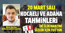 20 Mart 2018 Salı Kocaeli ve Adana At Yarışı Tahminleri - Kazandıran Kuponlar Burada
