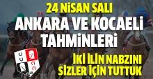 24 Nisan 2018 Salı Ankara ve Kocaeli At Yarışı Tahminleri | Altılı Ganyan Tahminleri