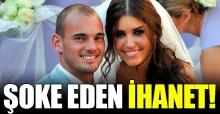 Galatasaray'ın eski yıldızı Sneijder Yolanthe tarafından aldatıldı mı! Flaş iddia