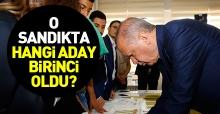 Erdoğan'ın oy kullandığı sandıktan hangi aday birinci çıktı