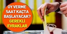 24 Haziran Seçimleri oy verme işlemi ne zaman başlayacak - Seçim yasağı kaçta bitecek