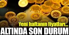 13 Ağustos 2018 Pazartesi Altın fiyatları - Gram ve çeyrek altın kaç lira
