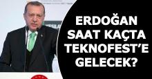 Cumhurbaşkanı Recep Tayyip Erdoğan saat kaçta Teknofest'e gelecek? Tüm detaylar...