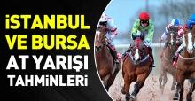 19 Ekim 2018 Cuma İstanbul ve Bursa At Yarışı Tahminleri ve Programı