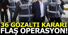 Ankara'da flaş operasyon! 9'u pilot 36 subay için gözaltı kararı