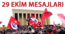 29 Ekim Cumhuriyet Bayramı Whatsapp SMS mesajları