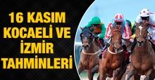 16 Kasım 2018 Cuma İzmir ve Kocaeli At Yarışı Tahminleri ve Programı