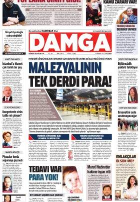 DAMGA Gazetesi - 01.04.2021 Sayfaları