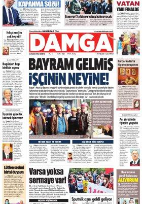 DAMGA Gazetesi - 01.05.2021 Sayfaları