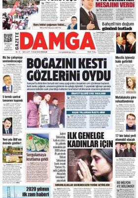 Gazete Damga - 02.01.2020 Sayfaları