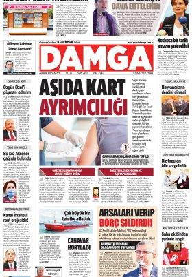 DAMGA Gazetesi - 02.04.2021 Sayfaları