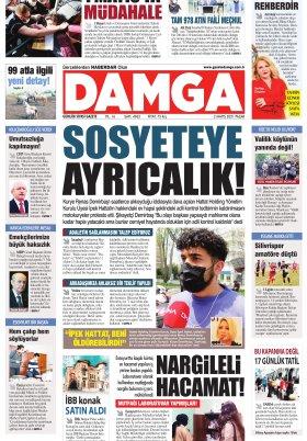 DAMGA Gazetesi - 02.05.2021 Sayfaları
