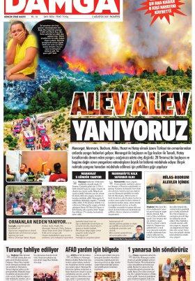 DAMGA Gazetesi - 02.08.2021 Sayfaları