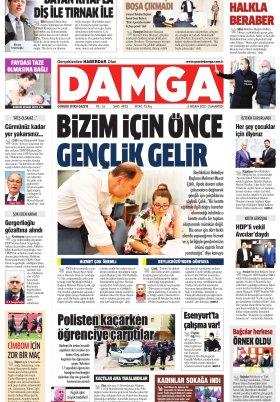 DAMGA Gazetesi - 03.04.2021 Sayfaları