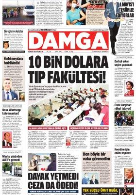 DAMGA Gazetesi - 03.05.2021 Sayfaları