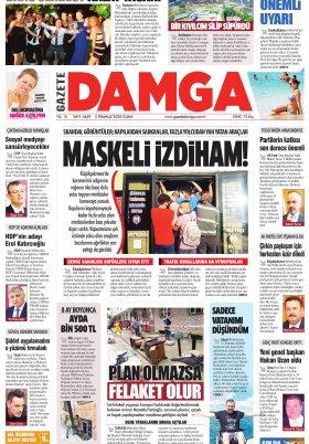 Gazete Damga - 03.07.2020 Sayfaları