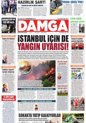 DAMGA Gazetesi - 03.08.2021 Sayfaları