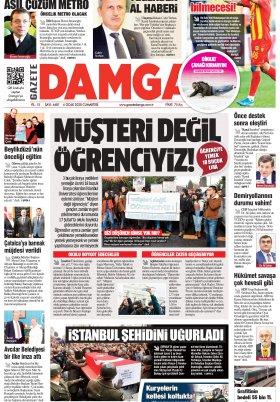 Gazete Damga - 04.01.2020 Sayfaları