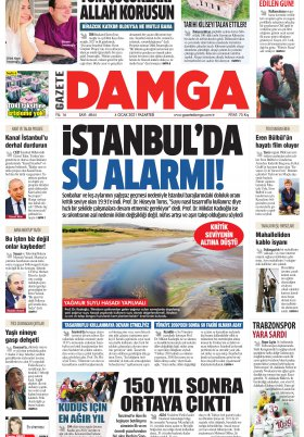 Gazete Damga - 04.01.2021 Sayfaları