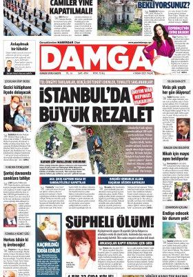 DAMGA Gazetesi - 04.04.2021 Sayfaları