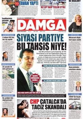 DAMGA Gazetesi - 04.05.2021 Sayfaları