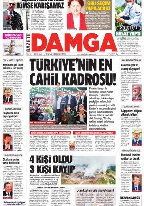 Gazete Damga - 04.07.2020 Sayfaları