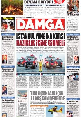 DAMGA Gazetesi - 04.08.2021 Sayfaları