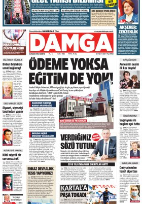 DAMGA Gazetesi - 05.04.2021 Sayfaları