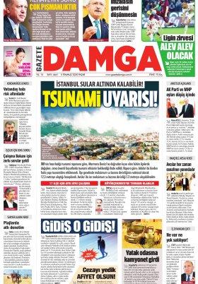 Gazete Damga - 05.07.2020 Sayfaları