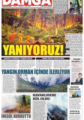 DAMGA Gazetesi - 05.08.2021 Sayfaları