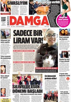 Gazete Damga - 06.01.2020 Sayfaları