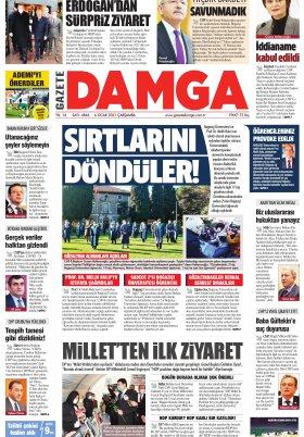Gazete Damga - 06.01.2021 Sayfaları