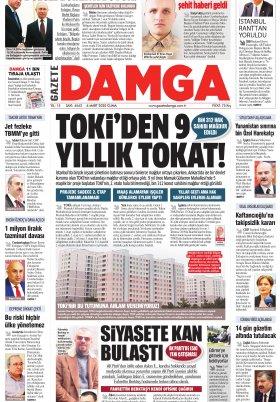Gazete Damga - 06.03.2020 Sayfaları