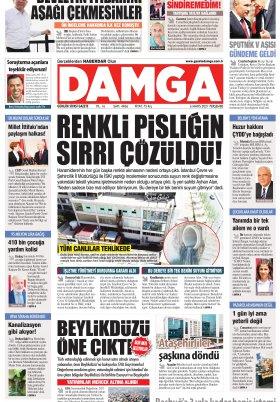 DAMGA Gazetesi - 06.05.2021 Sayfaları
