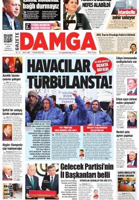 Gazete Damga - 07.01.2020 Sayfaları