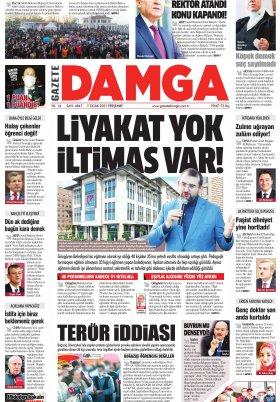 Gazete Damga - 07.01.2021 Sayfaları