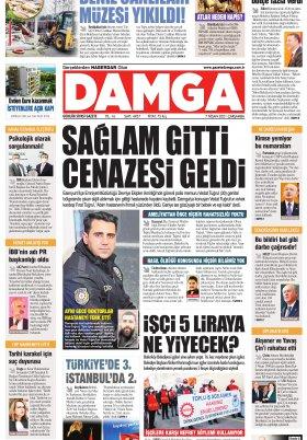 DAMGA Gazetesi - 07.04.2021 Sayfaları